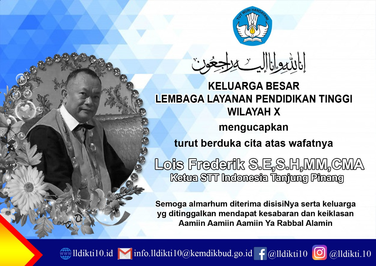 Ketua STT Indonesia Tanjungpinang Lois Frederik Tutup Usia